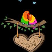 LoveBirdsTouchHereSWF