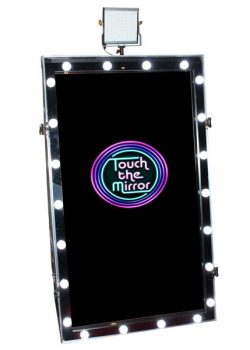 Magic Mirror Flite with Hollywood Frame